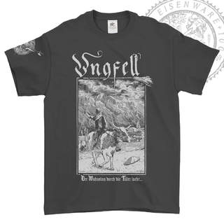 UNGFELL - Der Wahnsinn..., T-Shirt (Vintage black)
