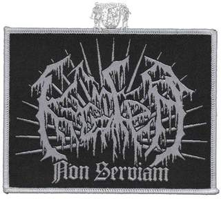 KRATER - Logo/Non Serviam, Patch