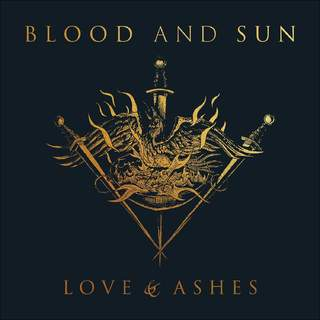 BLOOD AND SUN - Love & Ashes, LP (Cover damage)