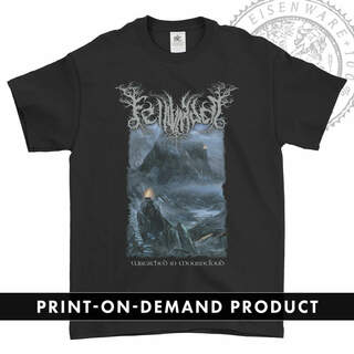 FELLWARDEN - Wreathed in Mourncloud, T-Shirt (On Demand)