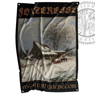 FORTERESSE - Métal noir québécois, Flagge