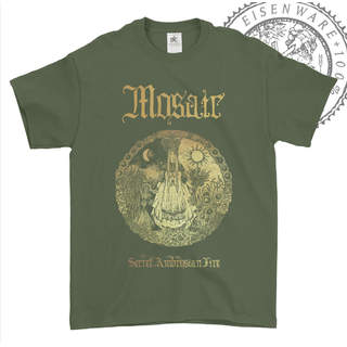 MOSAIC - Secret Ambrosian Fire, T-Shirt (khaki)