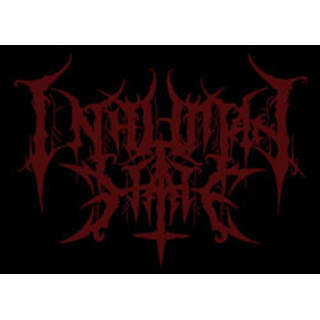 INHUMAN HATE - Logo, Patch