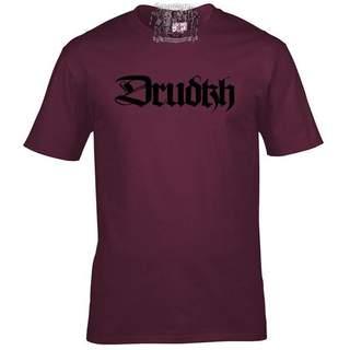 DRUDKH - Logo, T-Shirt (burgundy)