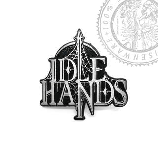 IDLE HANDS (UNTO OTHERS) - Logo, Metal Pin