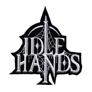 IDLE HANDS - Logo, Patch (shaped)
