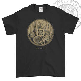 FLAME, DEAR FLAME - Aegis, T-Shirt (Black)